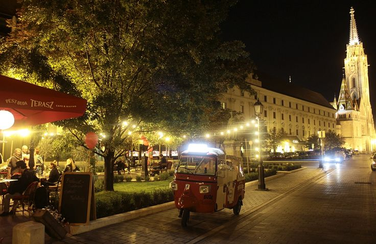 Pest-Buda http://www.pestbudabistro.hu/ | Terasz #budapest #restaurant #pestbuda #restaurantdesign #tuktuk