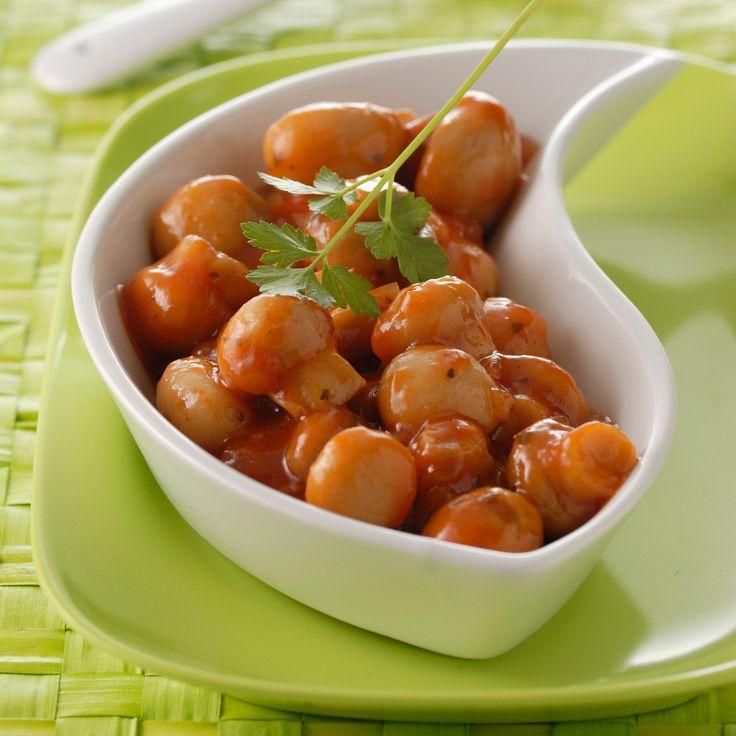 Découvrez la recette champignons à la grecque sur cuisineactuelle.fr.