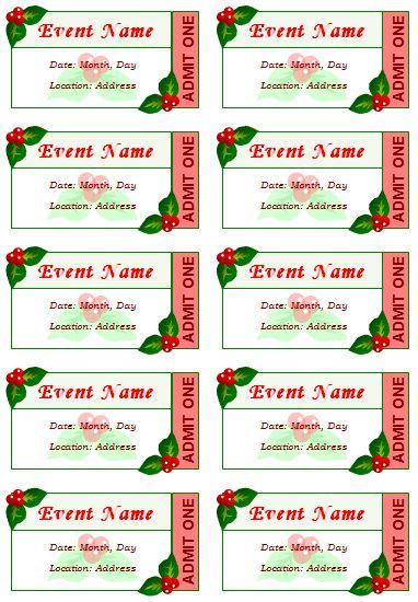 25+ unique Ticket template ideas on Pinterest Movie ticket - create your own movie ticket