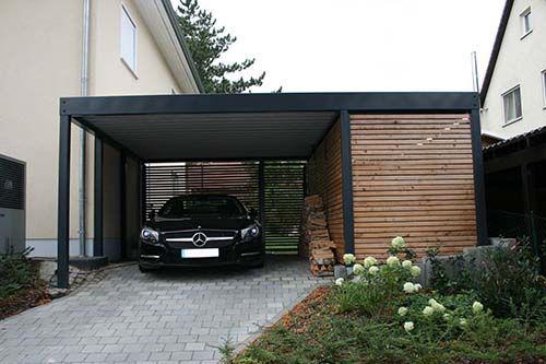die besten 25 carport mit abstellraum ideen auf pinterest doppelcarport carport mit schuppen. Black Bedroom Furniture Sets. Home Design Ideas