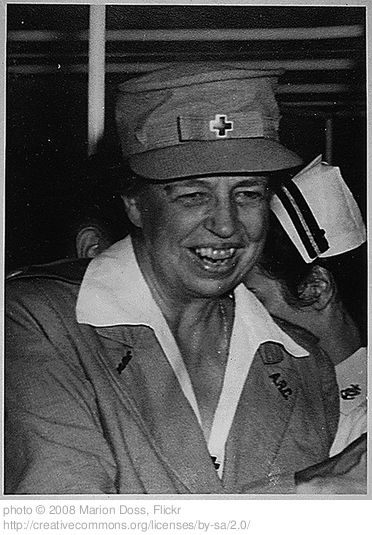 """Eleanor Roosevelt would have made an excellent blogger. Though she lived and died before the era of the world wide web, she was her day's version of a blogger: her syndicated newspaper column """"My Day"""" appeared in American newspapers nationwide, 6 days a week, for nearly 30 years"""