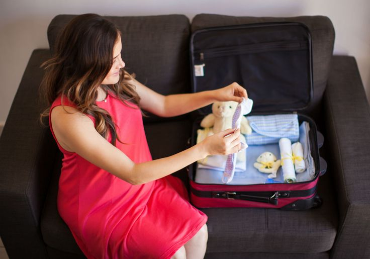 O que não pode faltar na mala de maternidade da mamãe