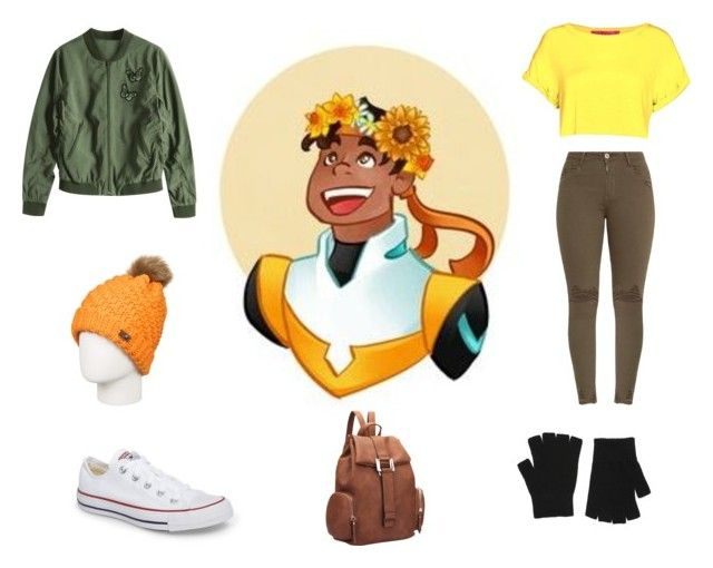 """""""Voltron inspired"""" by isabelle071102 on Polyvore featuring Accessorize, Converse, Roxy and Dasein"""