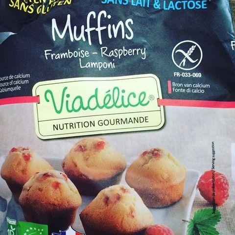 🍓 Délicieux #muffins au coeur de #framboise 😋 #sansglutensanslait #glutenfree #nodairy #viadelice 👍🏻 #yummy #miamm #pornfood