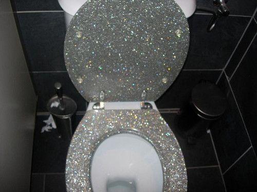 The glitter shitter.