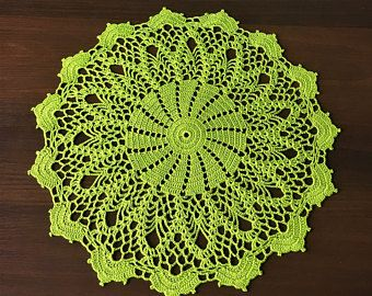 Rustic decor table decorations napkin table mat hand crochetedhand crocheted kitchen coasters kitchen accessory Doily crocheted.