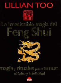 La irresistible magia del Feng Shui de Lillian Too editado por Oniro.Lillian too, autora best-seller de Feng shui, presenta una obra llena de color y de rituales mágicos y secretos para atraer el éxito, el amor y la prosperidad en todas las áreas de tu vida. En este apasionado libro, la autora revela el secreto herméticamente guardado de cómo crear tu propio jarrón de la riqueza, y comparte el antiguo conocimiento de la alquimia taoísta...