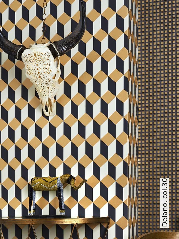 tapete delano by cole son tapetenagentur. Black Bedroom Furniture Sets. Home Design Ideas