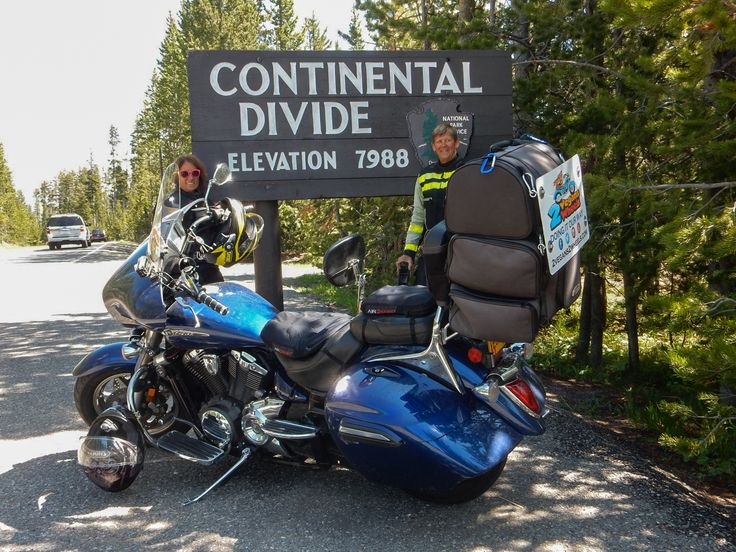 How to pack your motorcycle for long distance touring