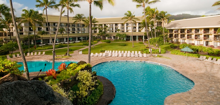 Hotel in Kauai, Kauai Hotel | Kauai Beach Resort. Our room was on the bottom, 1st bldg on left! Ready to go back!!