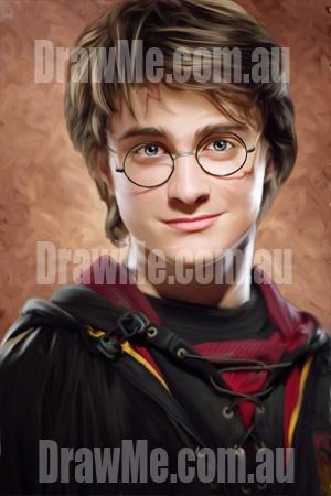 Harry Potter portrait from DrawMe.com.au