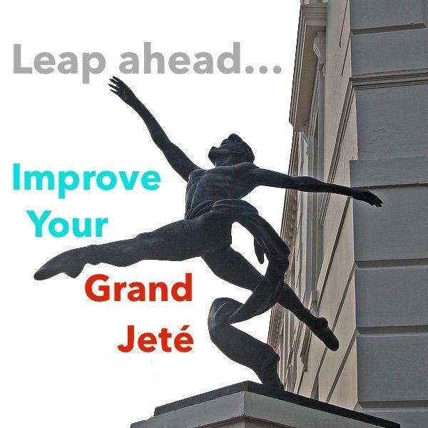 Tips for grand jeté (ballet leap)