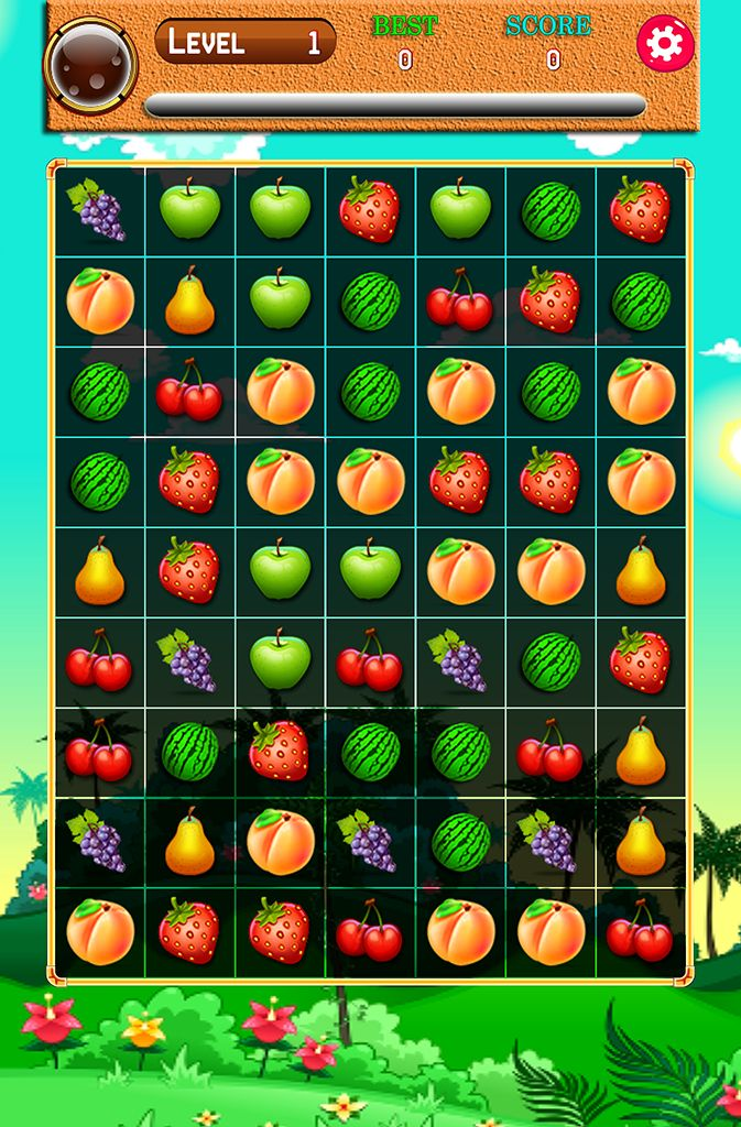 iOS,android match 3 puzzle game