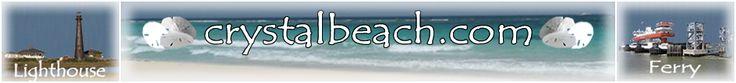 Crystal Beach, Texas-Resort community on the Gulf of Mexico