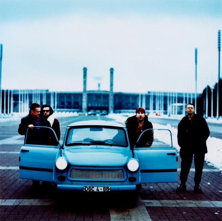 U2 Berlin Olympic Stadium Achtung Baby U2 Trabant Achtung Baby U2 Members Bono