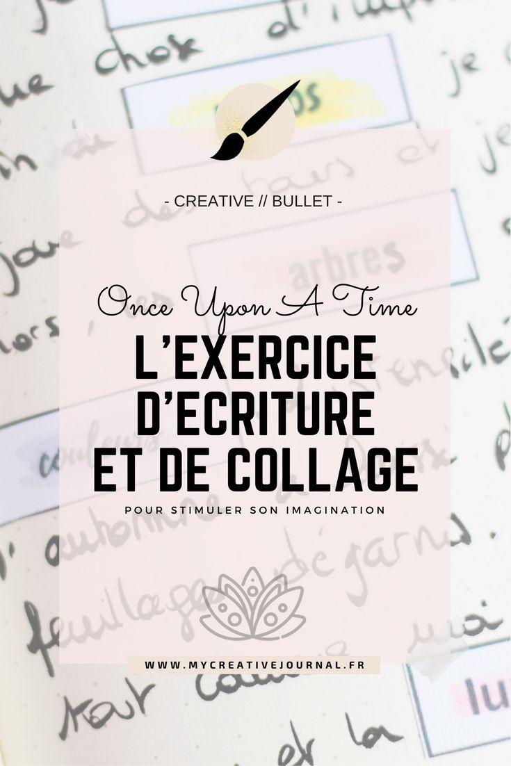 bullet creative journal exercice ecriture histoire