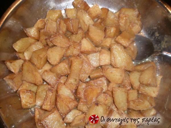 Πατάτες αντιναχτές με μουστάρδα #sintagespareas