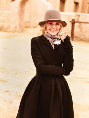 I'm going to en devour to continue to just be myself when I'm older.  I think Diane Keaton is a great example of that. Rock on.