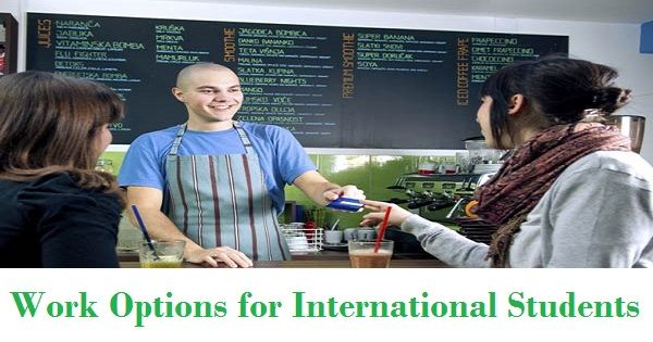 Part Time Work Options For International Students Studying In