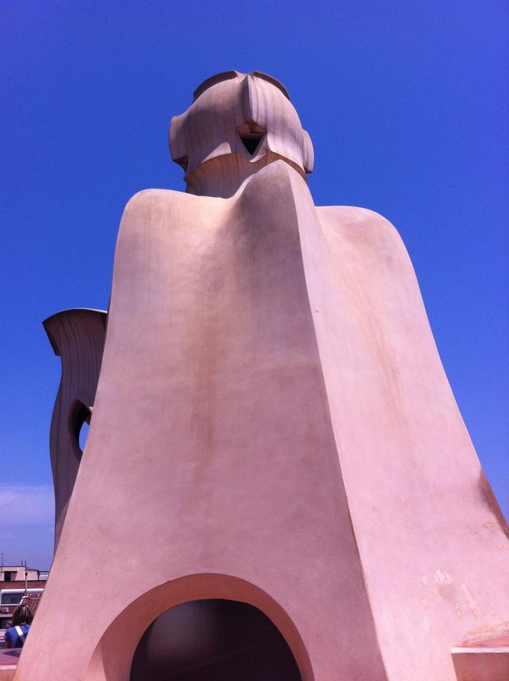 Antoni Gaudí, La Pedrera (Casa Milà), Barcelona - May 2012 / Photo by Camilla Momme