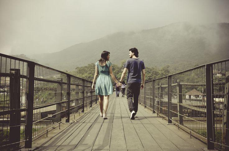 » Fernanda e Daniel | Ensaio em Paranapiacaba