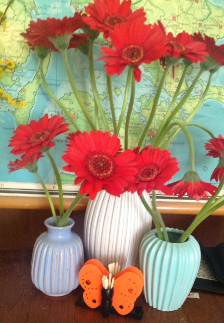 Blomster, Eslau og sommerfugl :-)