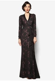 Katrina Dress from Jovian Mandagie for Zalora in black_1