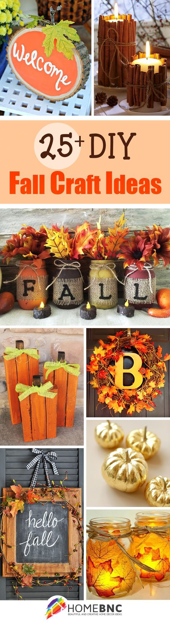 28 Best DIY Fall Craft Ideas and Decorations for 2016