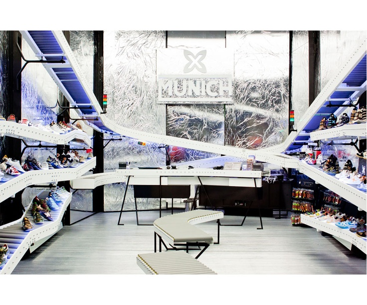 Munich Shoe Shop by ADD+ arquitectura Bailo-Rull    Photography Albert Marin (graph.cat): Photography Albert, Munich Shoe, Shoe Shop, Arquitectura Bailo Rull, Marin Graph Cat, Bailo Rull Photography