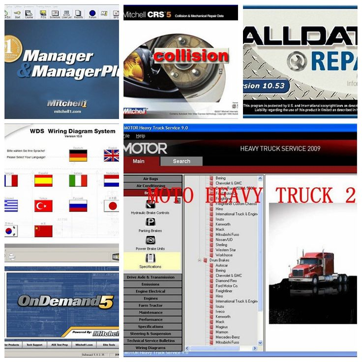 2017 auto repair software alldata and mitchell 10.53v all data+ mitchell 2015+ elsawin5.2+ atsg+ vivdworkshop+ heavy truck 50in1