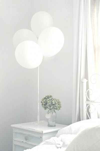 Buy balloons instead of flowers