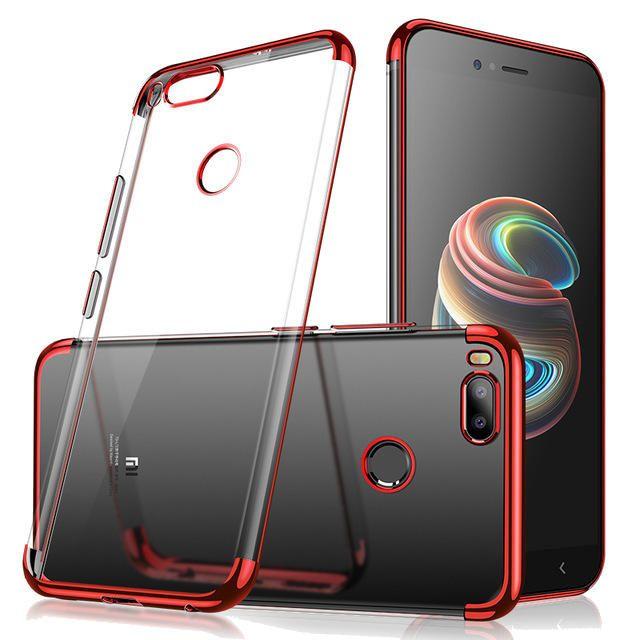 Cafele Luxury Ultra Thin Color Plating Soft Tpu Phone Case For Xiaomi Mi A1 Xiaomi Mi 5x