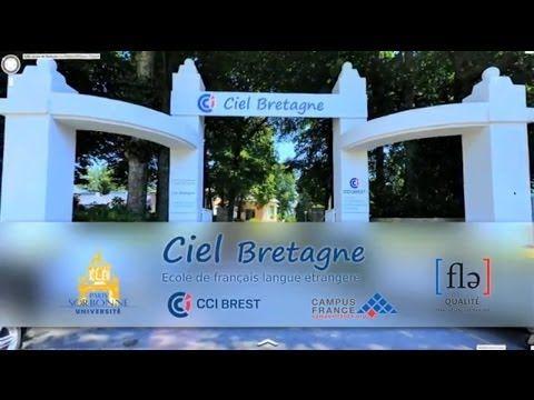 Réalisation de la vidéo de présentation du CIEL Bretagne - centre de formation FLE. www;air-media29.com