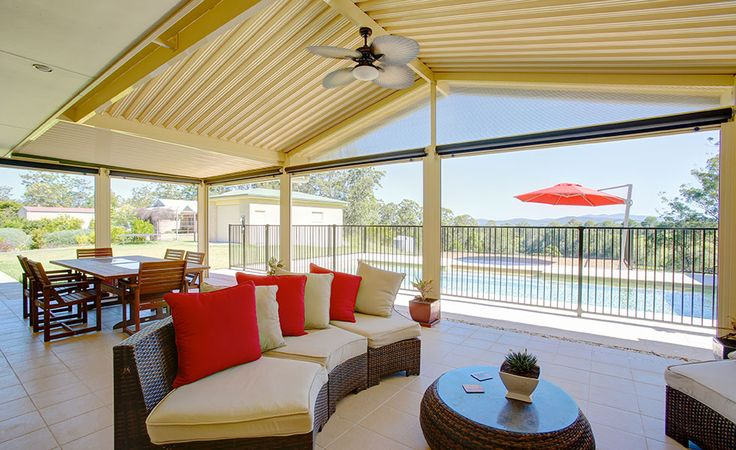 Spanline gable covered patio