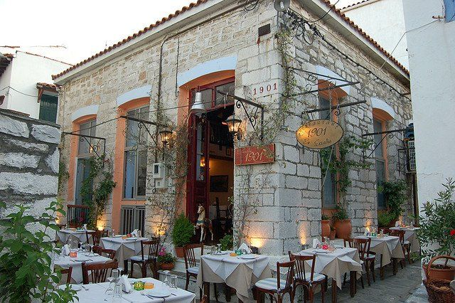 Restaurant 1901, Skiathos Town, Greece.
