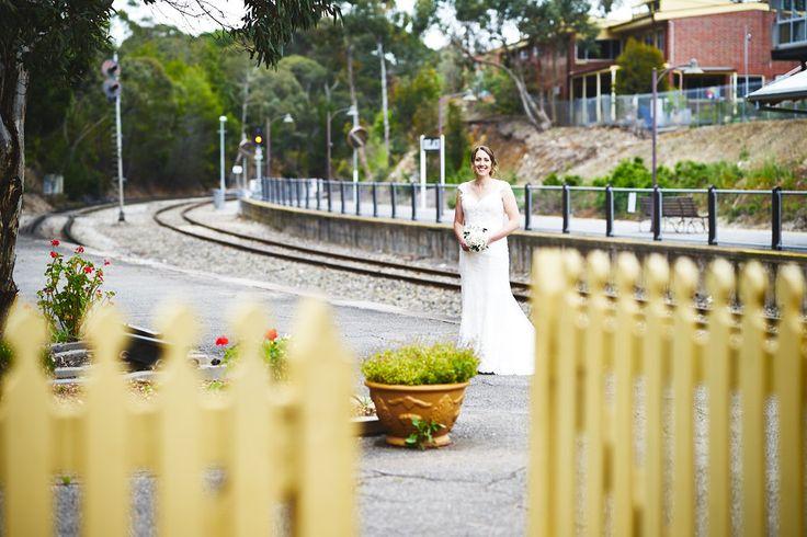 Old Belair Train Station wedding