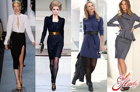 Модные деловые костюмы для женщины