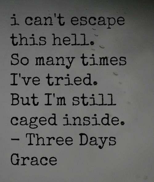 THREE DAYS GRACE LYRICS - Animal I Have Become