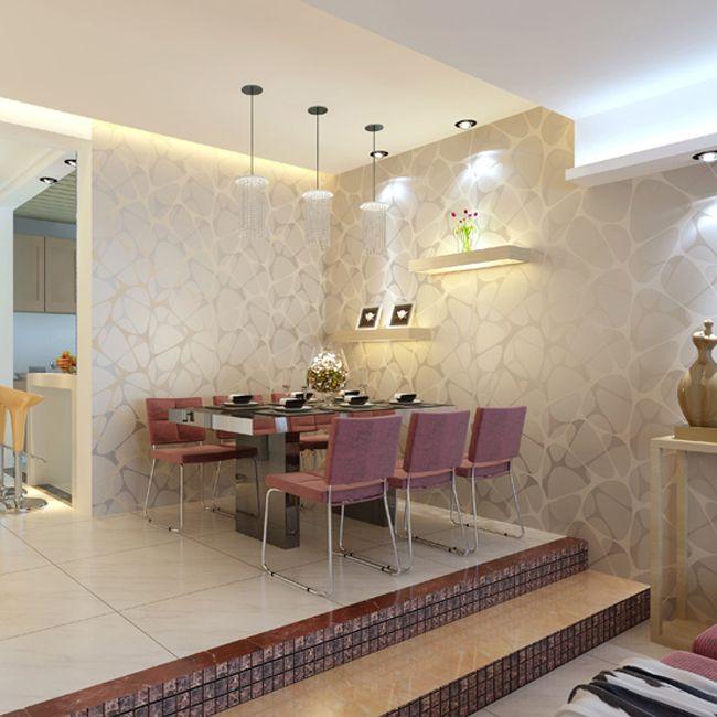 Sala Pequena Com Tecido Na Parede ~ 84 best images about {Sala de jantar} on Pinterest  Madeira, Amigos