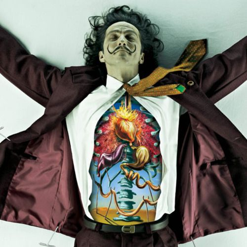 What Salvador Dali's insides would look like based on his art style.
