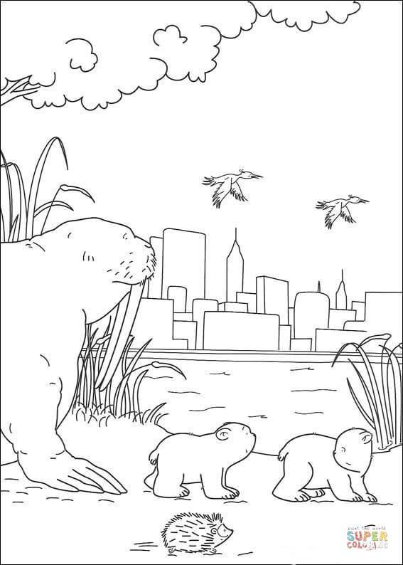 Afbeeldingsresultaat Voor Kleurplaat Lars De Kleine Ijsbeer Noord