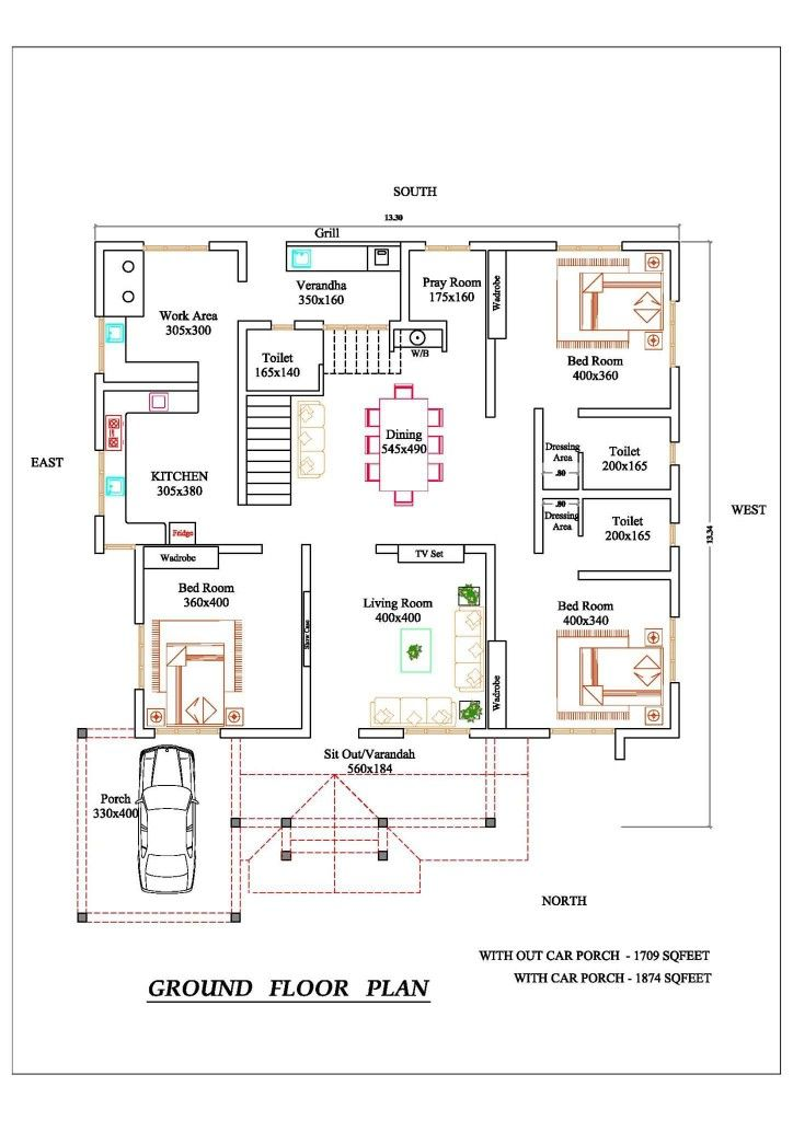 Home Plans Budget House Plans Indian House Plans 20x30 House Plans