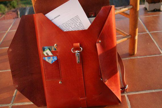 Bag Computer backpack folders ect. por Ludena en Etsy