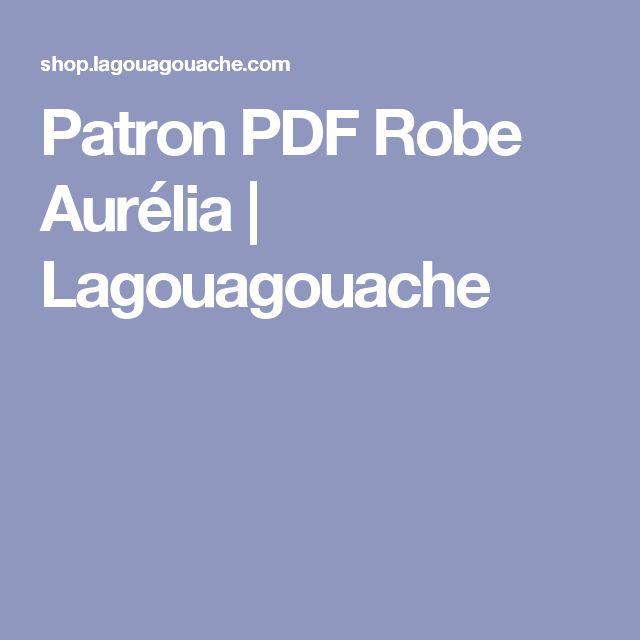 Patron PDF Robe Aurélia | Lagouagouache