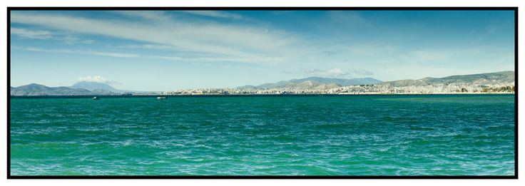 Across the bay towards Pireas  http://julianventer.com/video.html #JulianVenter #Greece #Athens #Alimos
