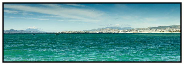 Across the bay towards Pireas  http://julianventer.com/video.html #JulianVenter #Greece #Athens #Alimos