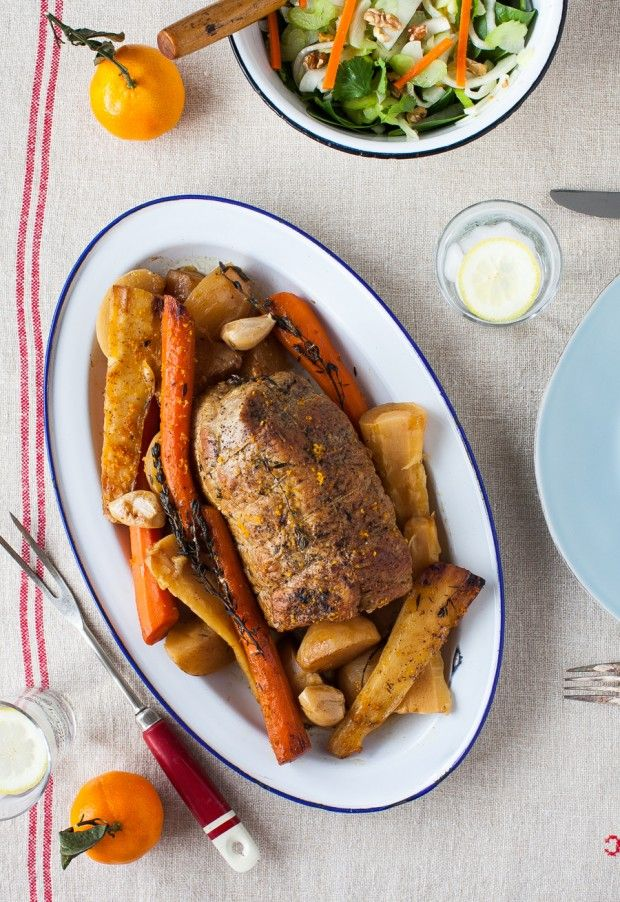 Veal Pot Roast with Root Vegetables (slow cooker) | Simple Bites # ...
