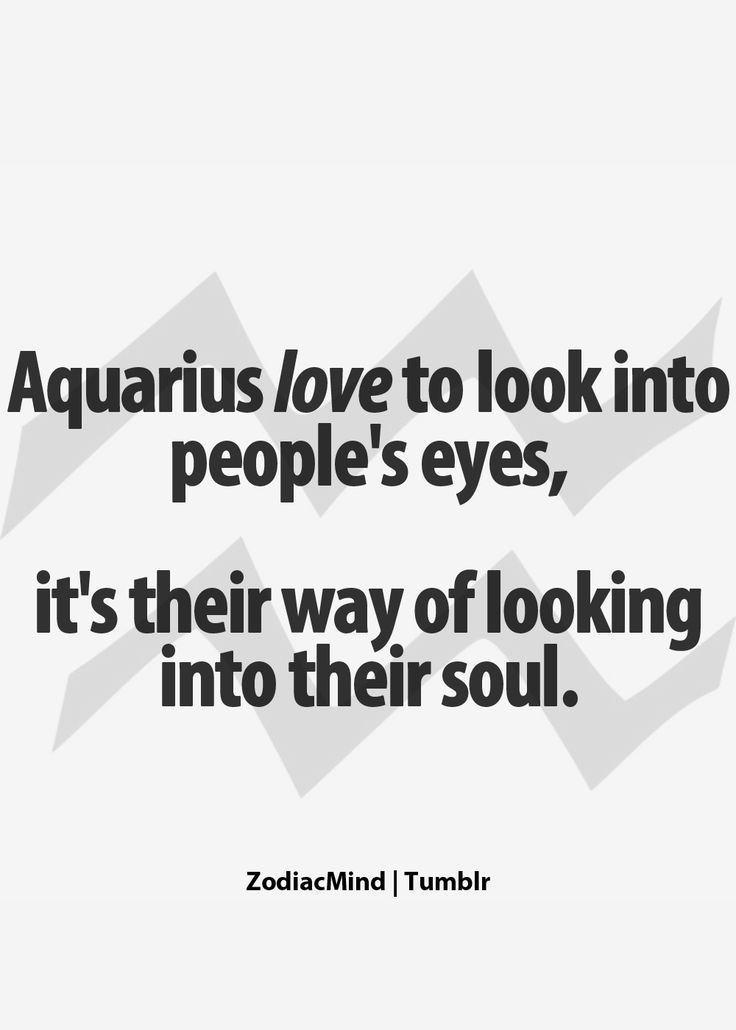 from Eliseo sex facts about aquarius