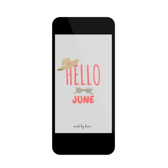 hello june free download | made by demi