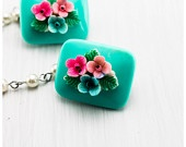 Floral Sweater Clips